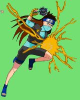 Gold Chidori by HitomiMPN