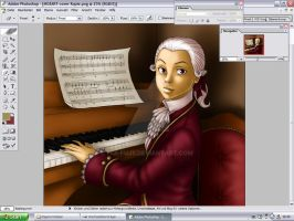 Kid Mozart .: finished :. by Fiji-Fujii