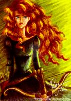 Princess Merida by bon2410