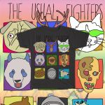 the usual fighters shirt design by wislingsailsmen