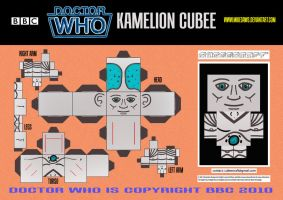 Doctor Who - Kamelion Cubee by mikedaws