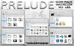 PRELUDE IconPack Inst. by JokerneB