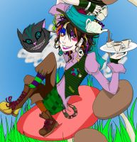 Me as Hatter -color- by ocmaker101