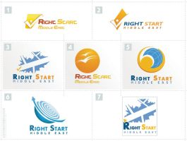 Right Start Logos by moslemperson