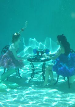 A Mermaid's Tea Party by BPinzonPhotography