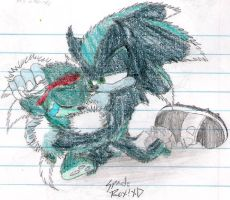 Daddy's here, Scourge . . . by Spade-the-Hedgehog