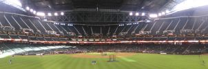 Chase Field Panorama 3 by kkworker