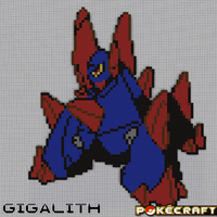 Pokecraft Gigalith by PkmnMc