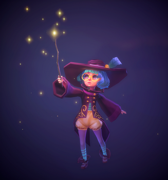 The Little Mage by DreamerWhit
