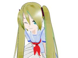MMD Natsumi Updated by Rozz-a