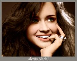alexis bledel coloring by freshgirlfresh