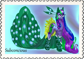~!Subconcious~Stamp!~ by Microdigit