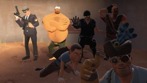 LEtheCreator's Gmod gang by Kugawattan