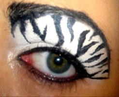 zebra eye by nicolec1986
