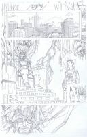 Fantastic Four Page 6 by aminamat