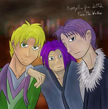 Happy 2012 From The Worlds by NimbusStev