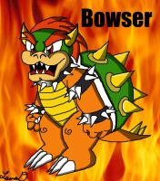 Bowser, King of Koopas by BlackBirdo
