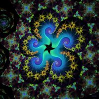 Escher Curly Star by 1389AD