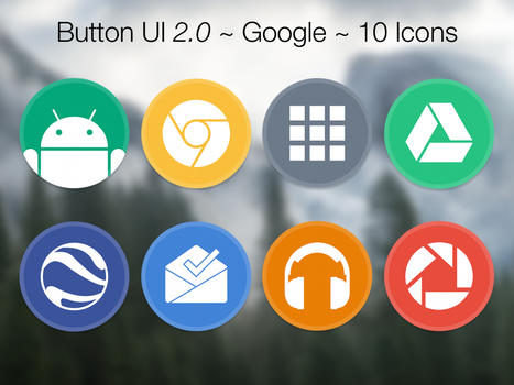 Button UI 2.0 ~ Google by BlackVariant
