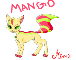 new Mango baby by MimiTheFox