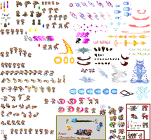 Taravale Sheree The Rabbit Sprites **UPDATE** by mymolly123