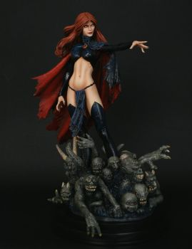 Goblin Queen Painted by TKMillerSculpt