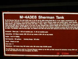 M4 Sherman Placard by ffrick73