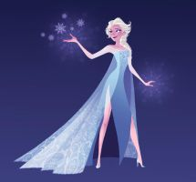 The cold never bothered me anyway by JoceyDraws