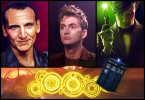 Doctor Who by Amras-Arfeiniel