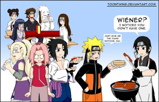Sai's Cook Out by ToonTwins