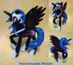 Custom Nightmare Moon 3 by thelovecat