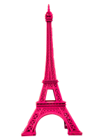 Pink Eiffel Tower PNG by NyaAkemiChan