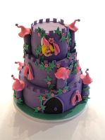 Castle Cake by Naera