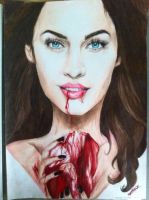 Cannibal Megan Fox by seasparkle-lioness