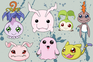 Digimons First Generation by adic-winchis