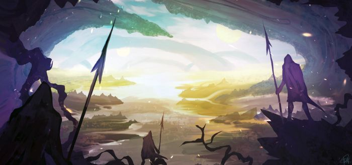daily speedpaint 053 - pikemen by iDaisan