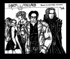 The Wolves Neo by KAINBANE