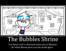 The Bubbles Shrine by Sweatshirtmaster
