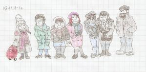 Me and my fellow travelers by Mara999
