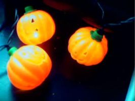 Plastic Pumpkin Patch by earthly-delight