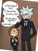 Rick and Morty - MIB by jameson9101322