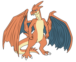 Mega Charizard by WeirdoFish