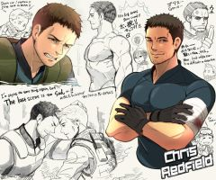 Chris Redfield by gigoro5656