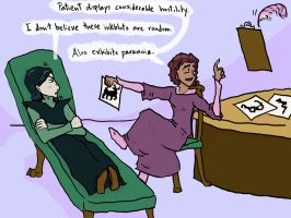 Snape on the Couch by Treacle-Miner