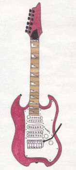 My Signature Guitar by 5nakeEyes