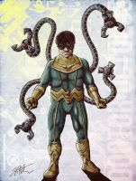 Doctor Octopus by iamjamesporter