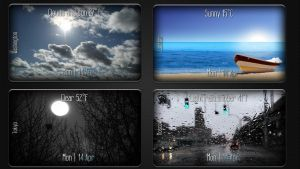 Eye On Weather for xwidget (edited) by jimking