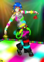 Rave boy by bleding-rose