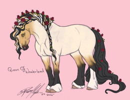 7565 Queen of Wonderland by Carousel-Stables