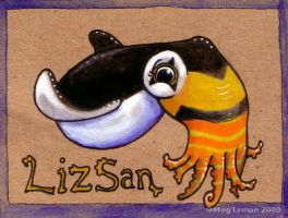 Badge: LizSan by MegLyman